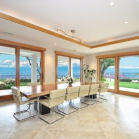 10 Formal dining area view windows
